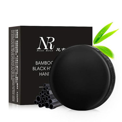 2-Pack 3-Pack and 6-Pack : Bamboo Charcoal Facial Cleansing Soap