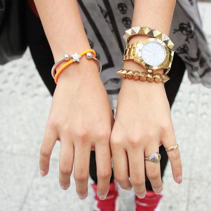 Fiercely Stylish Spiked Bracelets