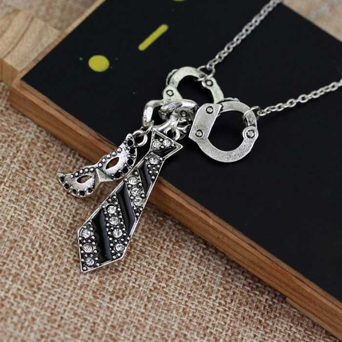 Fifty Shades of Grey Inspired Necklace