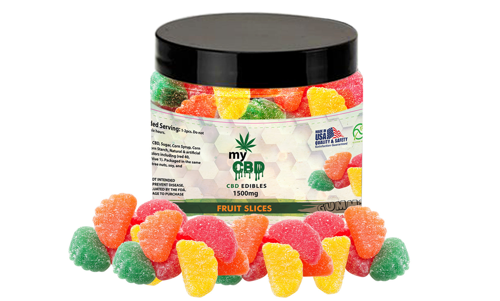 CBD Gummies From myCBD (600mg, 1500mg or 3000mg)