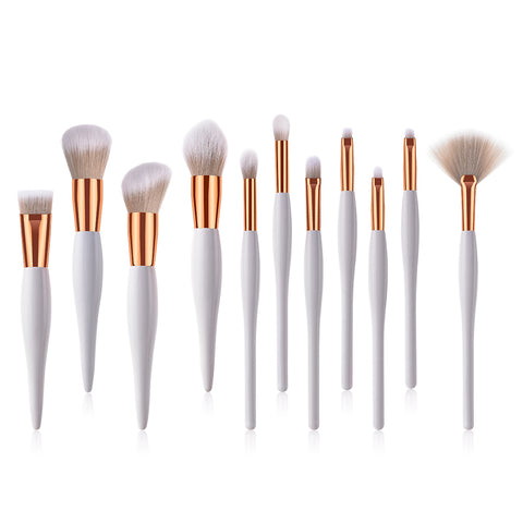11-Piece: All Dolled Up Makeup Brush Set