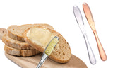 Stainless Steel and Copper Butter Spreader Cutter Slicer Knife