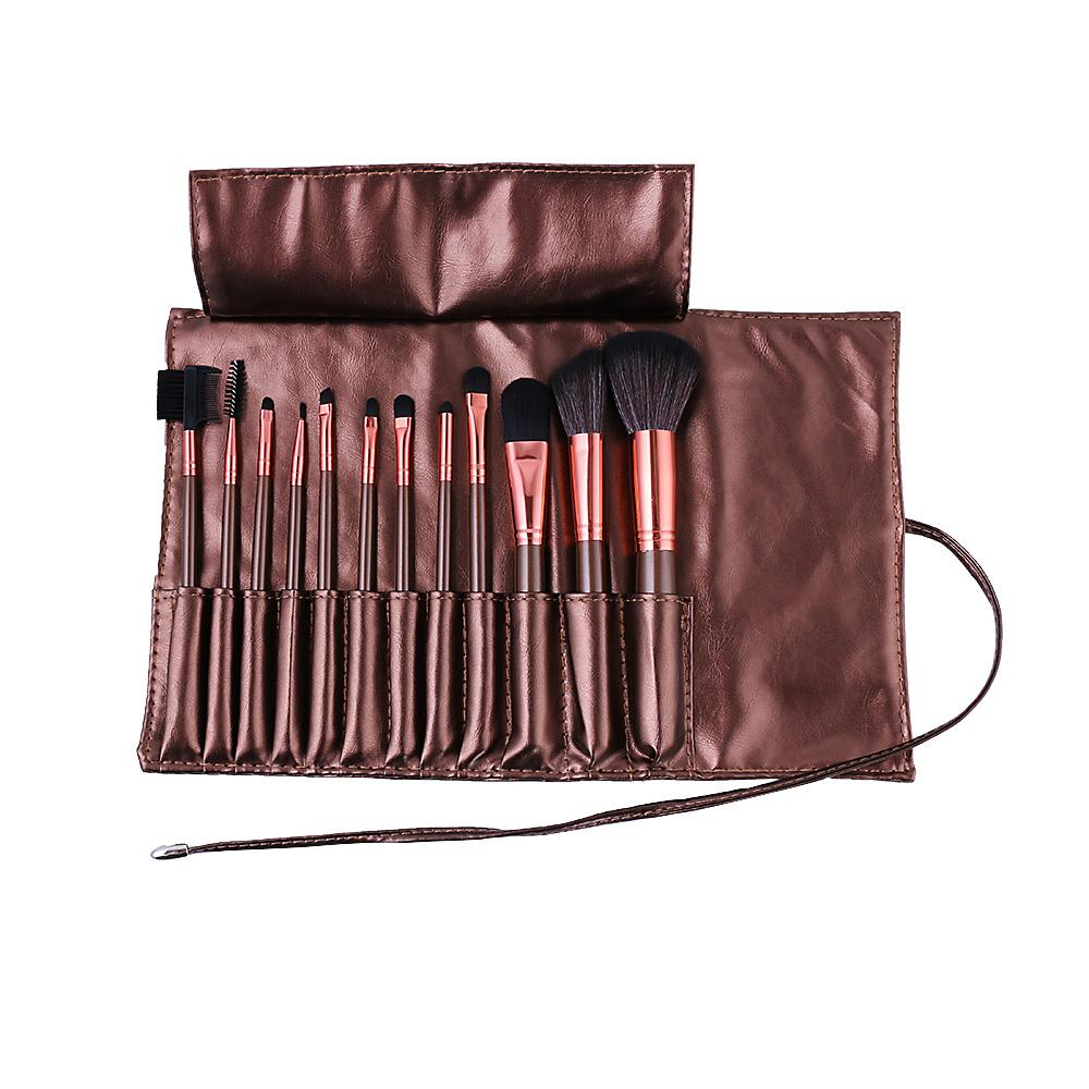13-Piece : Professional Makeup Brush Set with Pouch