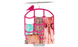 Luxurious Velvet Finish Non-Slip Scarf Hangers