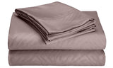 4-Piece Set: Super-Soft 1600 Series Zebra Embossed Bed Sheet