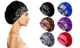 Women's Silky Satin Head Scarf Hair Wrap Cap Hat Headband Sleeping Bonnet