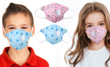 Multilayer Protective Respirator Safety Face Mask for Kids