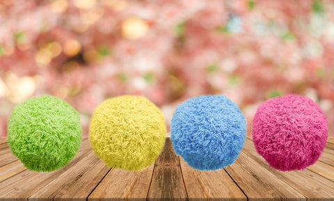 Portable Microfibre Mop Ball