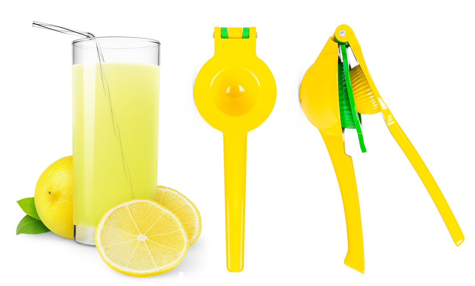 Easy-To-Use Hand Press Lemon Squeezer and Juicer Tool