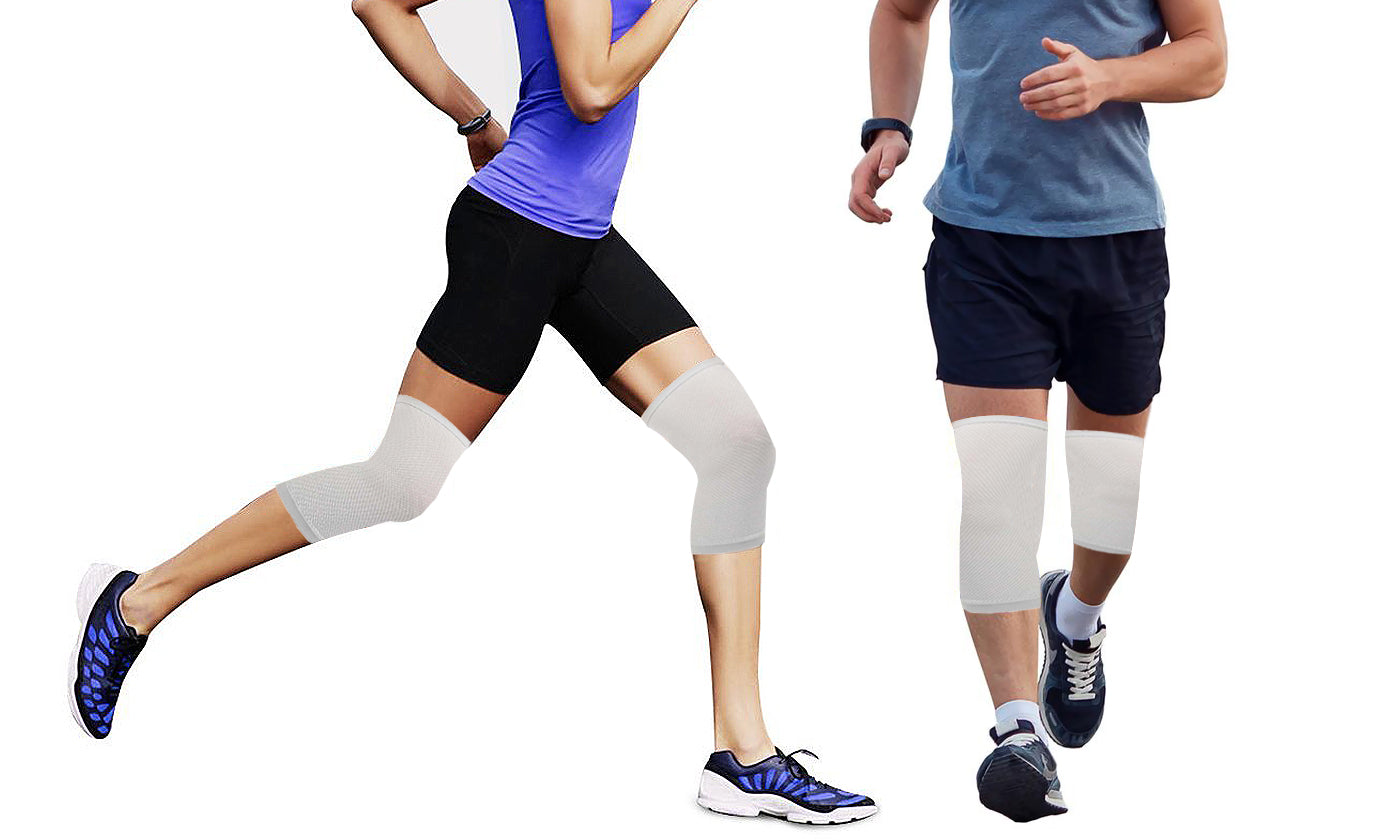 1-Pair: Tension Bandages for Knee Support