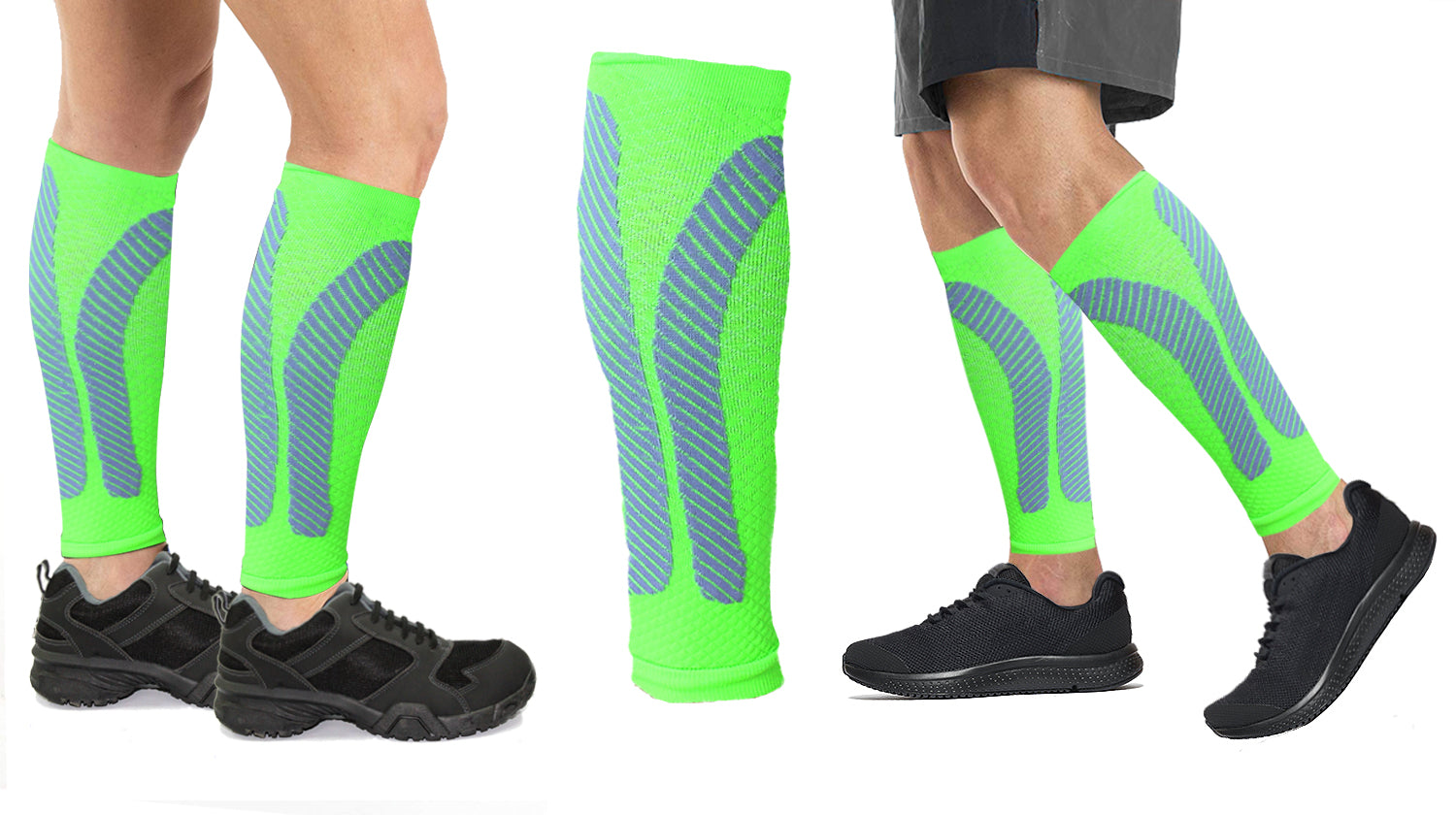 Xtreme Gear Calf Compression Sleeves (2-Pack)