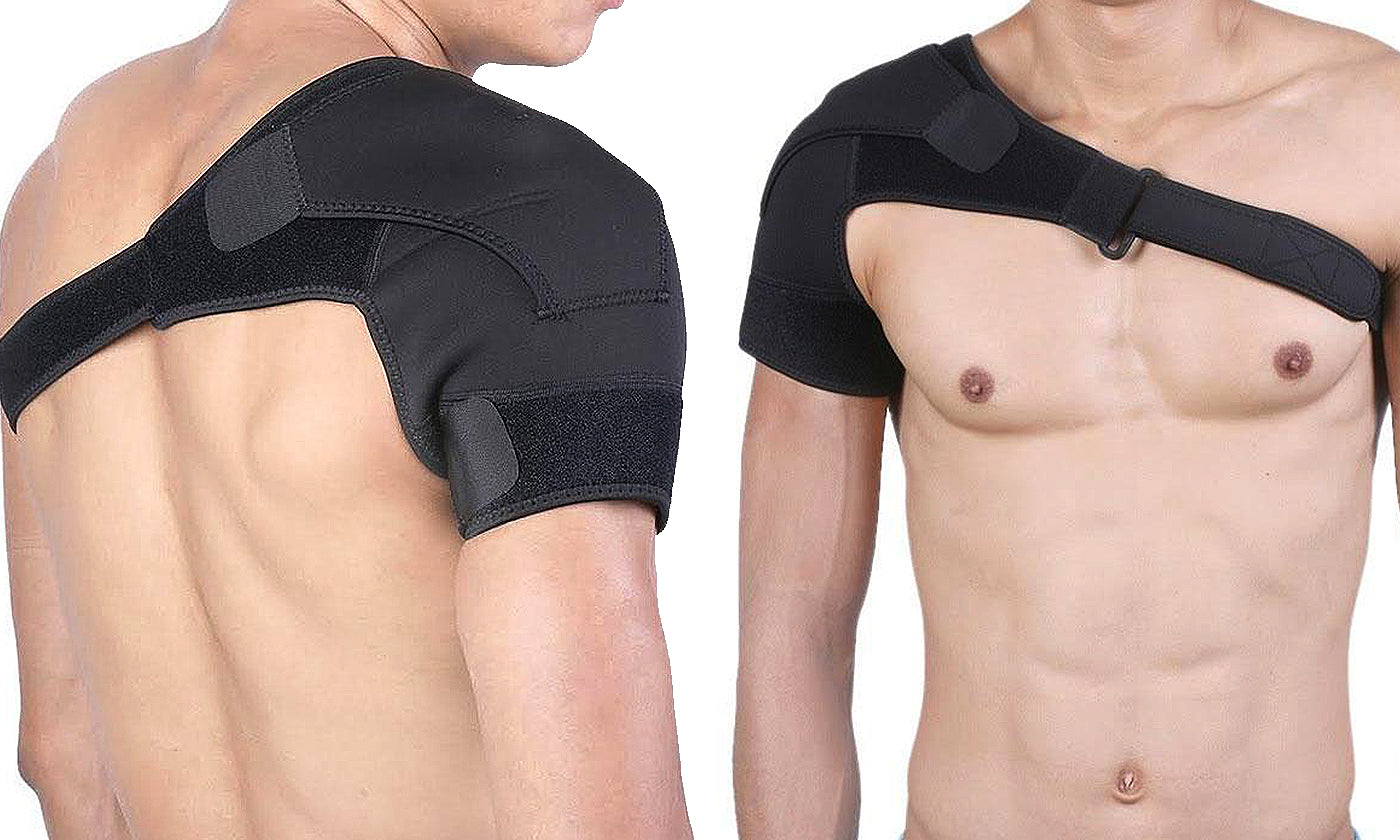 Unisex Adjustable Pain Relief Magnetic Shoulder Brace