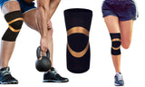 Unisex Copper Compression Knee Sleeve