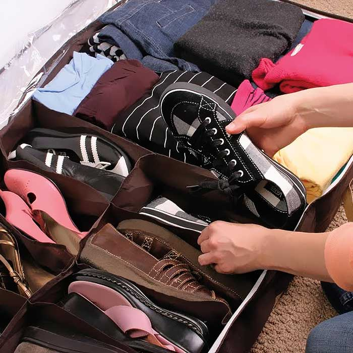 Hide a Closet under the Bed Organizer