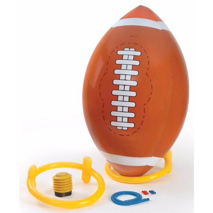 4 Foot Football with Inflatable Tee and Pump