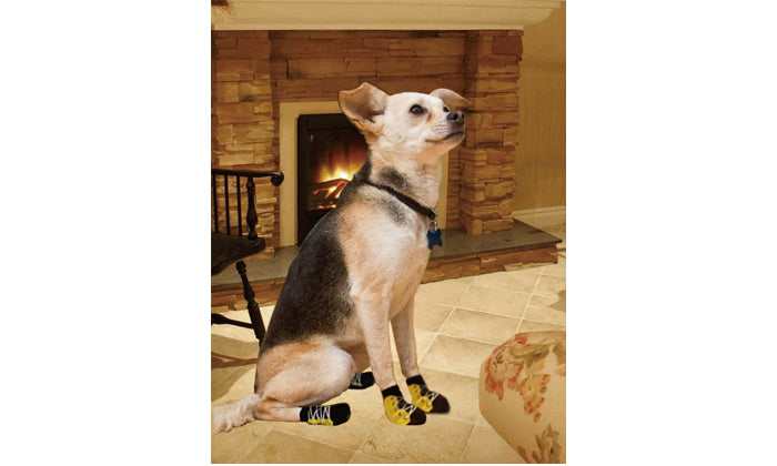 Set of 4: Set Anti-Slip  Socks