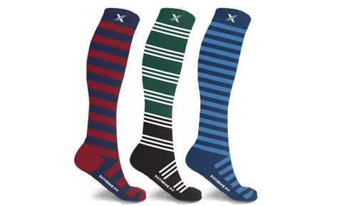 Athletic Graduated Compression Socks (3-Pairs)