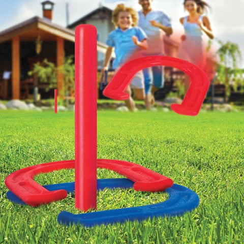 Indoor / Outdoor Horseshoes Game Set