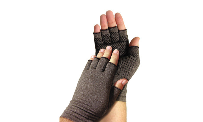 Compression Gloves with Grip