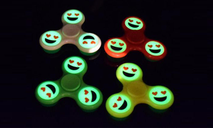 Emoji Glow Spinner - Assorted Colors