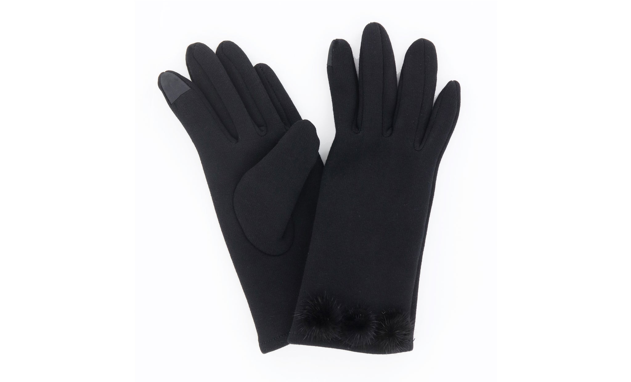 Modern Vintage Fleece Gloves