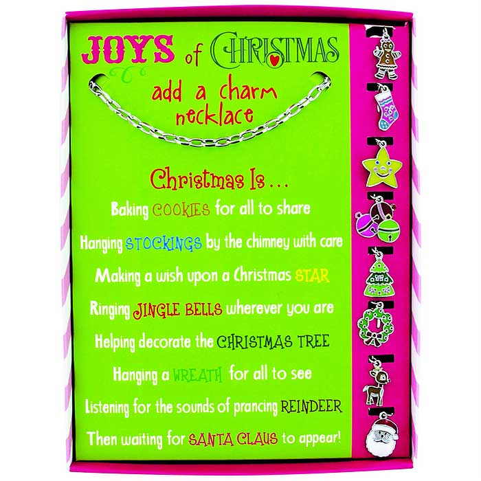 Joys of Christmas Add-a-Charm Necklace