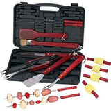 19-Piece BBQ Tool Set With Case