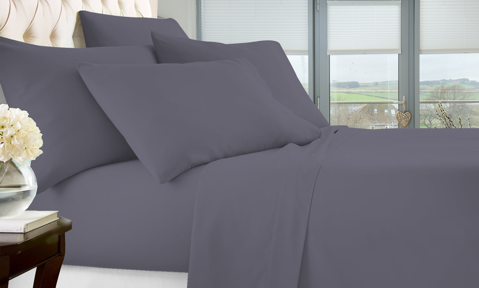 6-Piece Ultimate Fit Performance Bed Sheet Sets