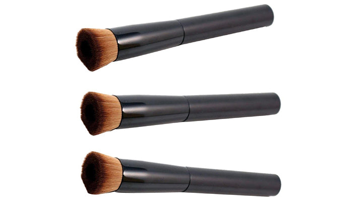 3-Pack: Makeup Perfecting Foundation Brushes