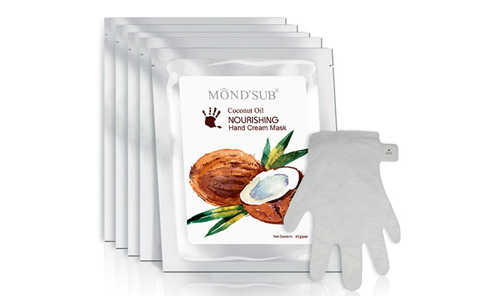 5-Pack: Nourishing Hand Cream Mask