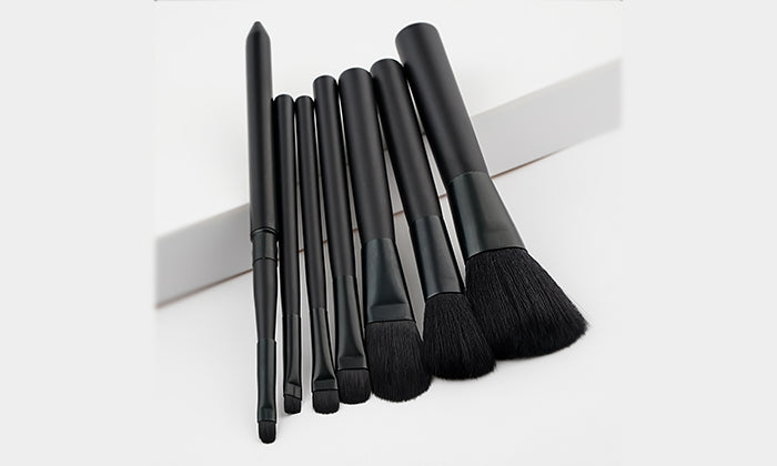 7-Piece Set: Black Beauty Makeup Brushes