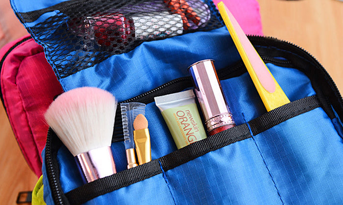 Cosmetic Organizer and Toiletry Bag