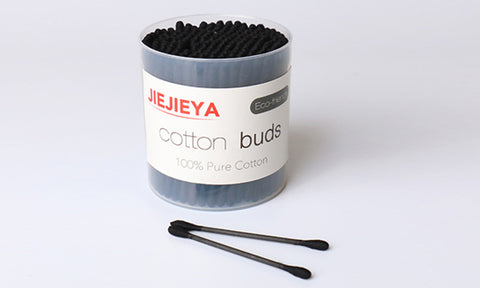 Bamboo Charcoal Cotton Buds