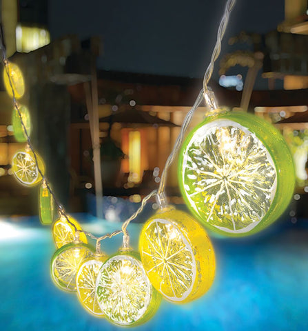 Lemon Lime LED String Lights