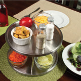 Stainless Steel 2 Tier Lazy Susan