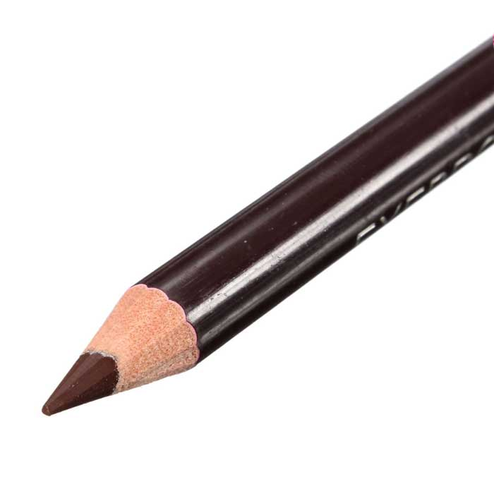 4-Pack : Waterproof Leopard Eyebrow Eyeliner Pencil With Brush