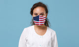 Reusable Non-Medical USA Flag Mask