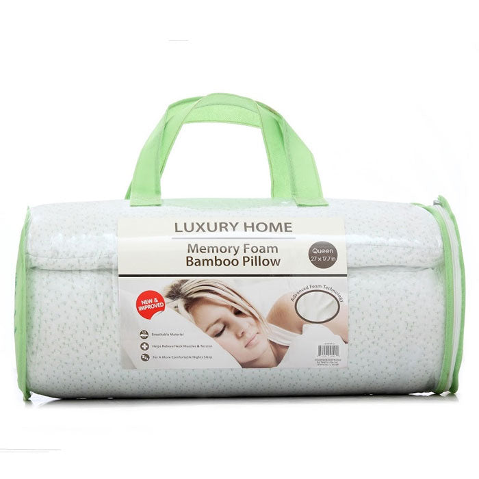 Bamboo Memory Foam Hypoallergenic Pillow