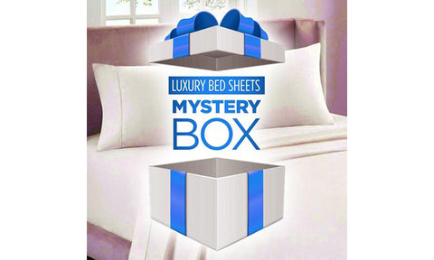 4-Pack: Luxury Home Bed Sheet Mystery Box