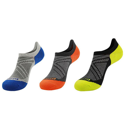 6-Pairs : Unisex All Day Relief Ankle Socks