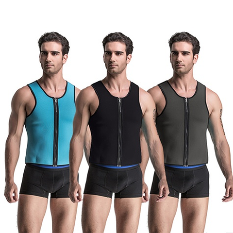 Men's Reversible Neoprene Slimming Sports Vest
