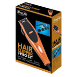 Fine Life 9-Piece Hair ClipperSet - COPPER