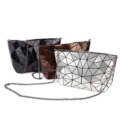 Geometric Night-Shift Handbag