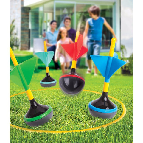 6 Piece Outdoor Lawn Dart Game Set