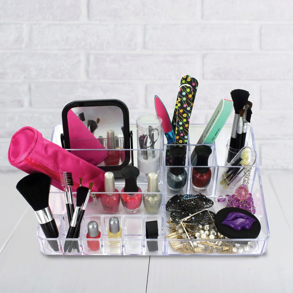 15 Compartment Cosmetic Organizer