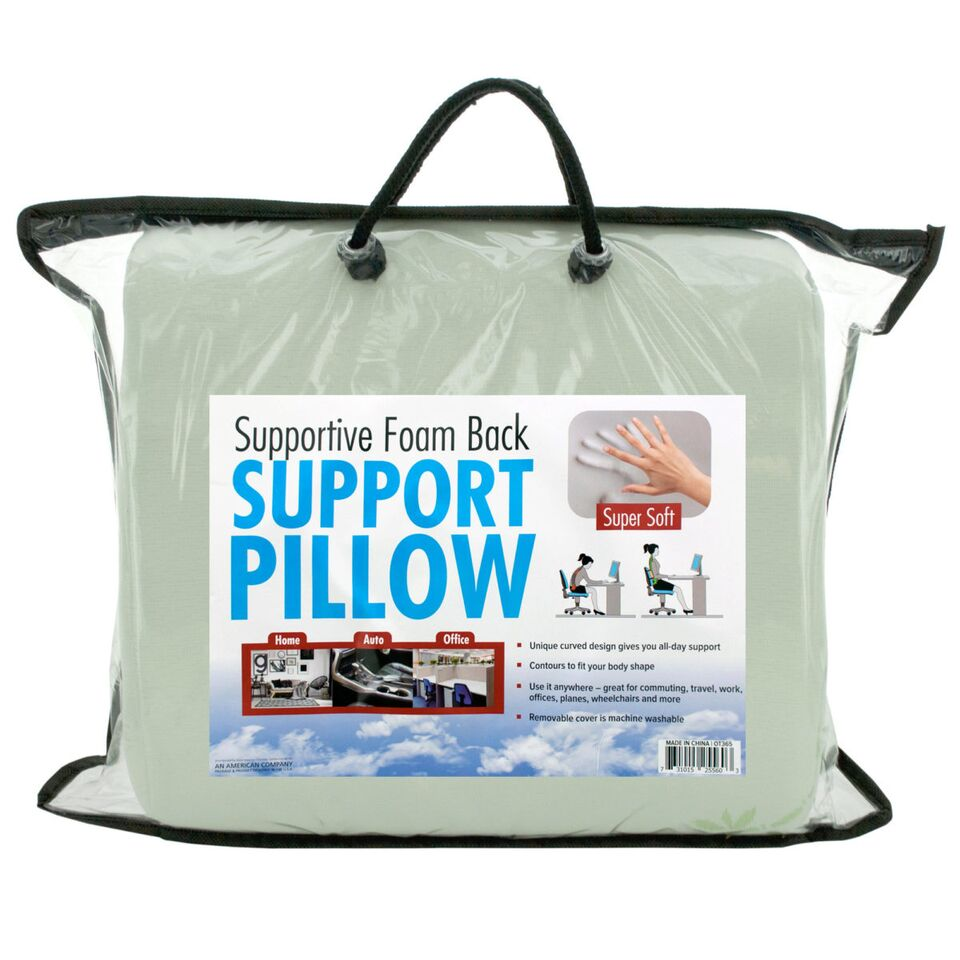 Supportive Foam Back Support Pillow