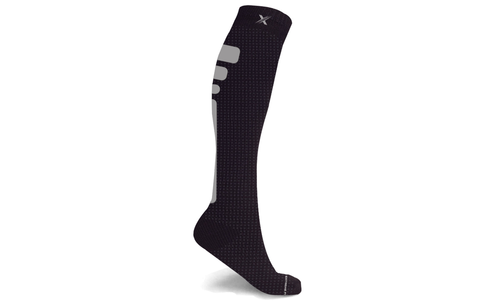 Reflective Knee High Compression Socks (1-Pair)