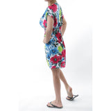 Tropical Print Sundress