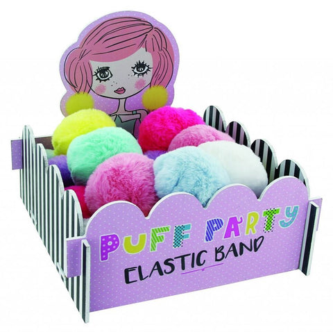 Puff Party Elastic Bands (Assorted Colors)