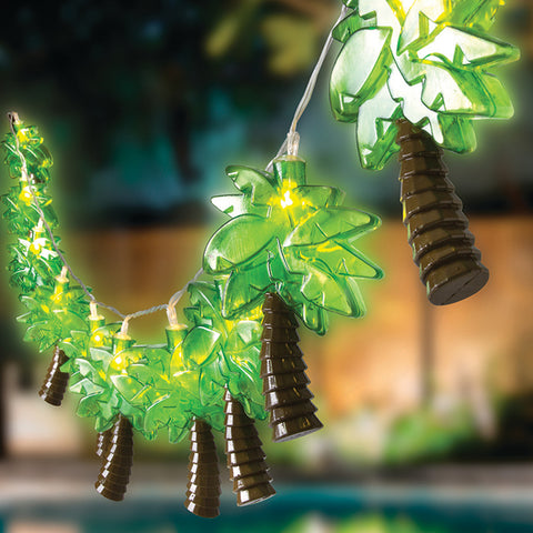 Palm Tree LED String Lights